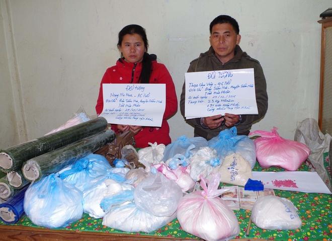 Cap vo chong nguoi Lao tang tru gan 24 kg heroin hinh anh 1