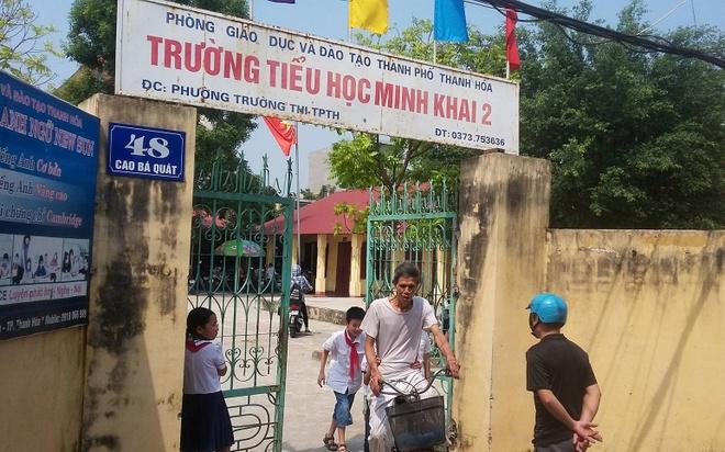 Hang chuc truong o Thanh Hoa tra lai tien cho phu huynh hinh anh 1