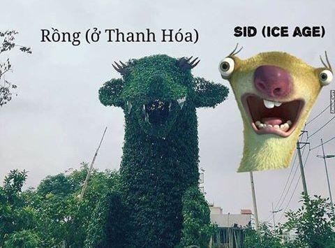 Rong Thanh Hoa giong nhan vat hoat hinh 'Ky bang ha' hinh anh 2