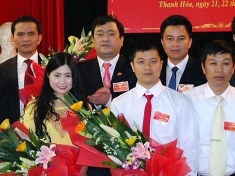 Uy ban Kiem tra Thanh Hoa lam ro vi pham viec bo nhiem ba Quynh Anh hinh anh 1