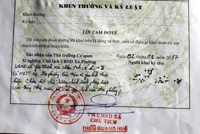 Pho chu tich Thanh Hoa chi dao chan chinh viec xa phe 'ly lich xau' hinh anh 2