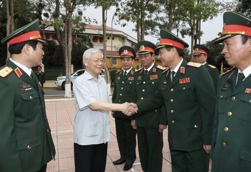 Tong bi thu: Dung qua ham du an ma phat trien nong hinh anh
