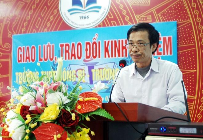 Truong cho hoc sinh nghi de giao luu o Quang Ninh nhan sai sot hinh anh