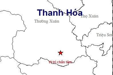 Dong dat 3 do richter lan dau xay ra o bien gioi Thanh Hoa hinh anh