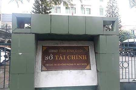 Pho phong So Tai chinh treo co anh 1