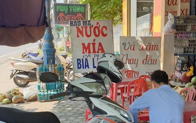 Tai xe cua lanh dao Cong an Thanh Hoa bi cua co hinh anh 1