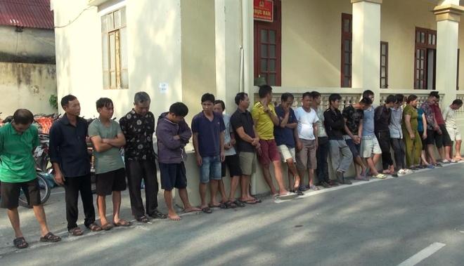 Khoi to 16 nguoi trong duong day trom hon 100 tan cho o Thanh Hoa hinh anh 1