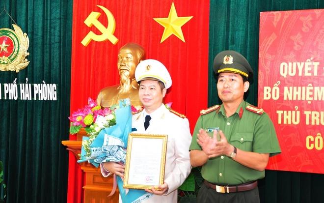 Bo nhiem Thu truong Co quan CSDT Cong an Hai Phong hinh anh 1