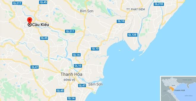 Hang chuc canh sat tim kiem nam thanh nien nhay cau hinh anh 2 map_thanhhoa_caukieu.jpg