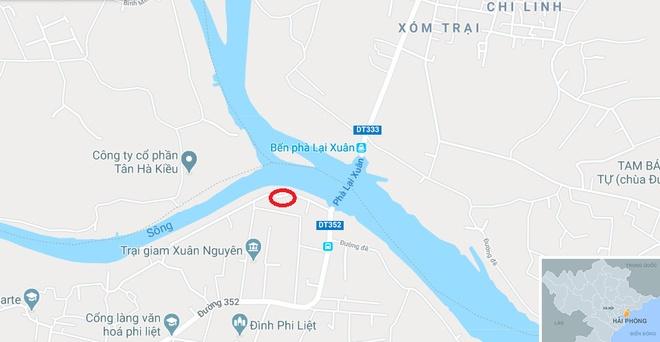Hai Phong khai quat khan cap 13 coc go nghi cua tran chien Bach Dang hinh anh 3 map_haiphong_xuan.jpg