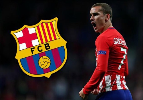 Atletico Madrid quyet khong nha Griezmann cho Barcelona hinh anh