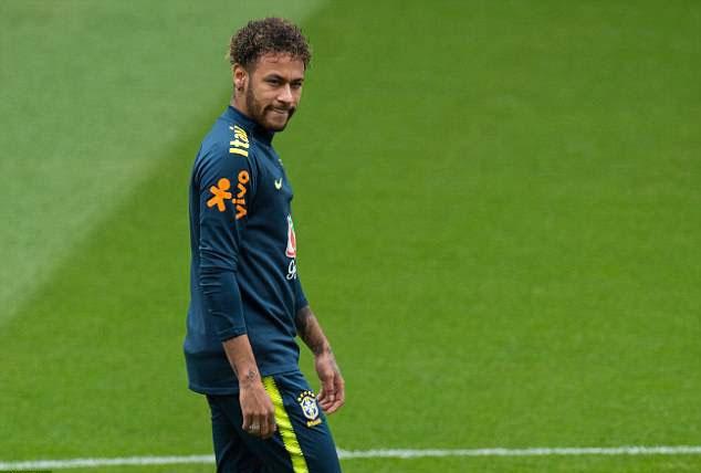 Fan Brazil tho phao khi Neymar tro lai,  DT Brazil anh 1