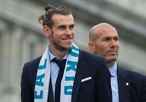 Bale im lang khi Zidane tu chuc, chuan bi don hop dong moi hinh anh