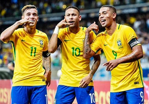 Brazil cong bo so ao cua 23 tuyen thu du World Cup hinh anh
