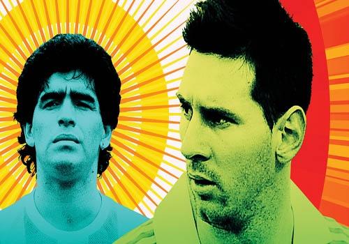 Lionel Messi: Tim giac mo World Cup trong noi am anh Maradona hinh anh