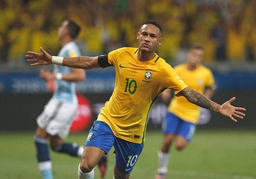 Neymar muon cung Brazil 'bao thu' Duc tai World Cup hinh anh