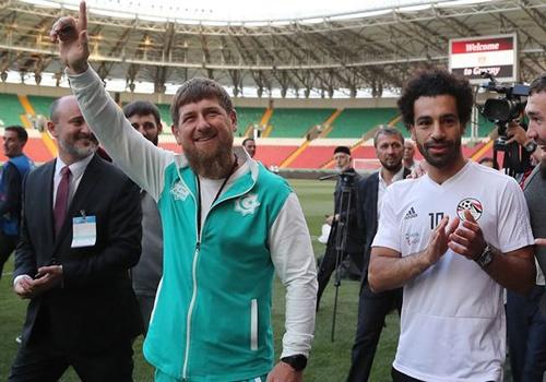 Salah toi tham du buoi tiec cua Cong hoa Chechnya hinh anh