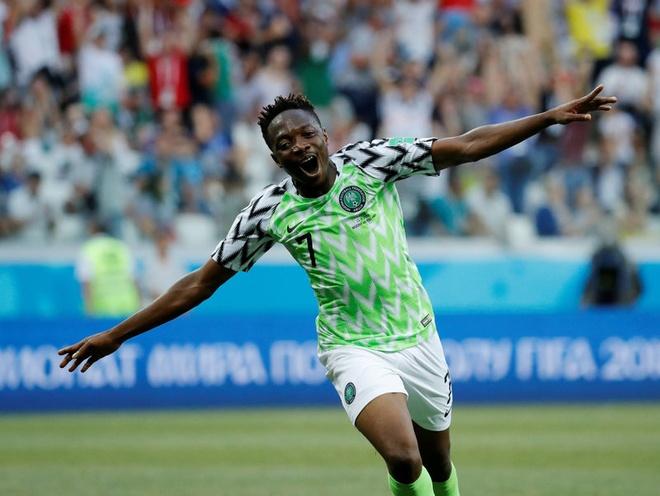 Ahmed Musa 'nan gan' Messi truoc tu chien Nigeria-Argentina hinh anh 1
