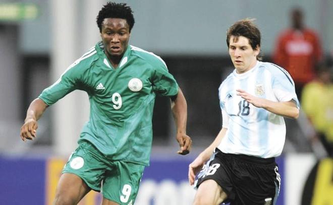 Ahmed Musa 'nan gan' Messi truoc tu chien Nigeria-Argentina hinh anh 2
