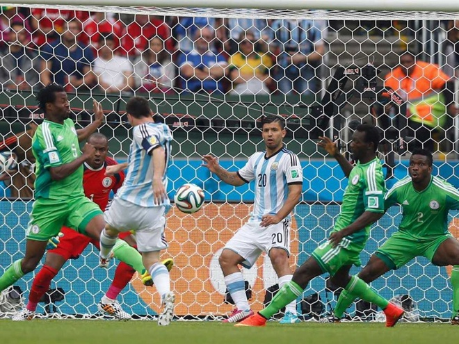 Argentina vs Nigeria,  Messi,  World Cup anh 5