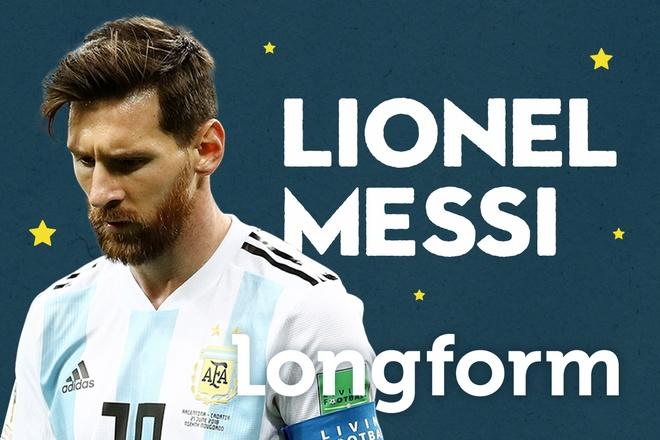 Lionel Messi: Thien tai may, anh cung la con nguoi, va phai chien dau hinh anh