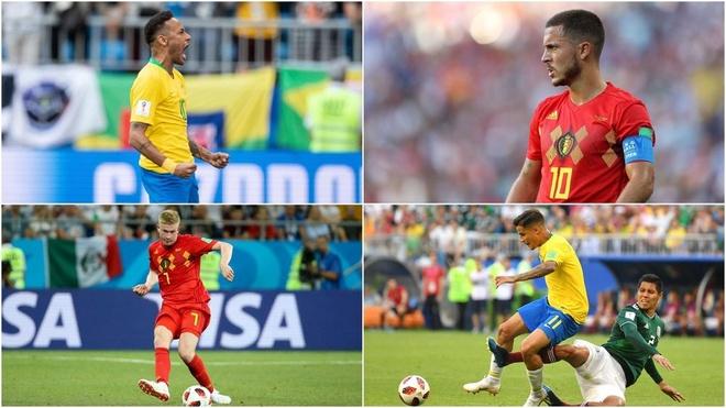 Brazil vs Bi: Hazard 'khong co cua' do voi Neymar hinh anh 4