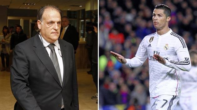 Chu tich La Liga: 'Ronaldo roi Real Madrid vi van de thue' hinh anh 1