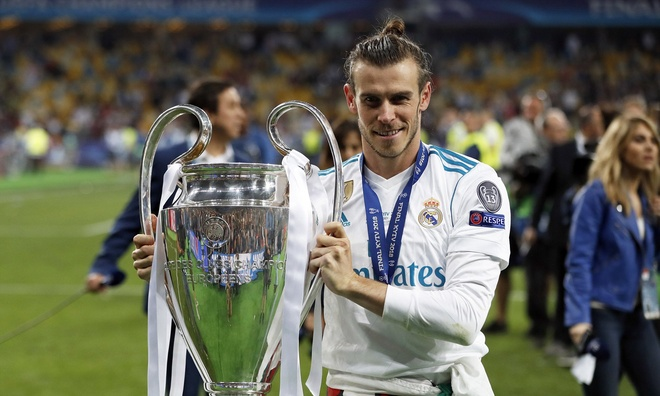 Ronald,  Gareth Bale,  Real Madrid anh 1