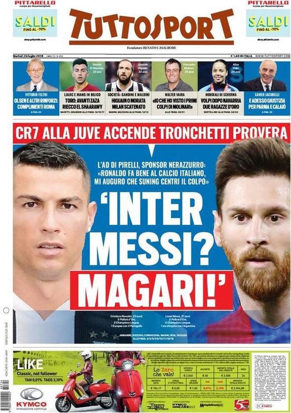 Messi,  Ronaldo,  Inter Milan,  Juventus anh 1