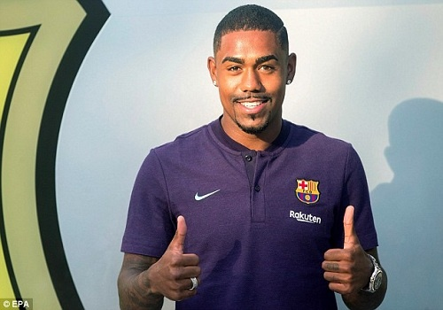 AS Roma can nhac khoi kien Barca vu mua Malcom hinh anh