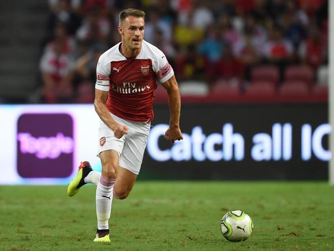 Chelsea chi 30 trieu bang cuom Ramsey tu Arsenal? hinh anh 1