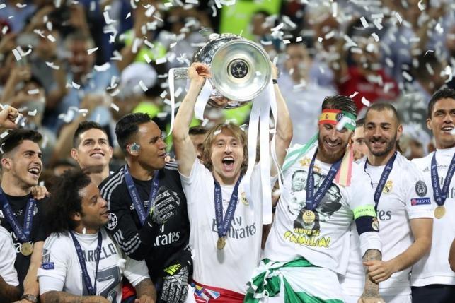 Modric gap chu tich Perez, xin sang Inter Milan de doi dau Ronaldo? hinh anh 1