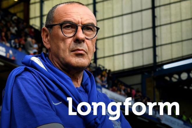 Chelsea va canh bac giua giong bao voi Maurizio Sarri hinh anh