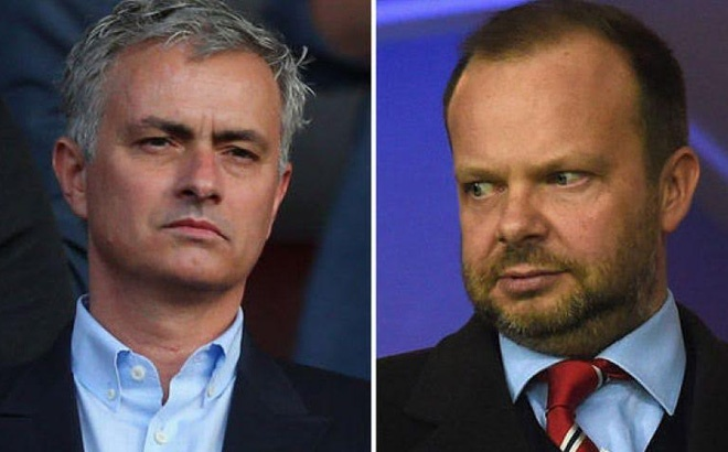 Jose Mourinho, Ed Woodward va cuoc chien vuong quyen tai MU hinh anh