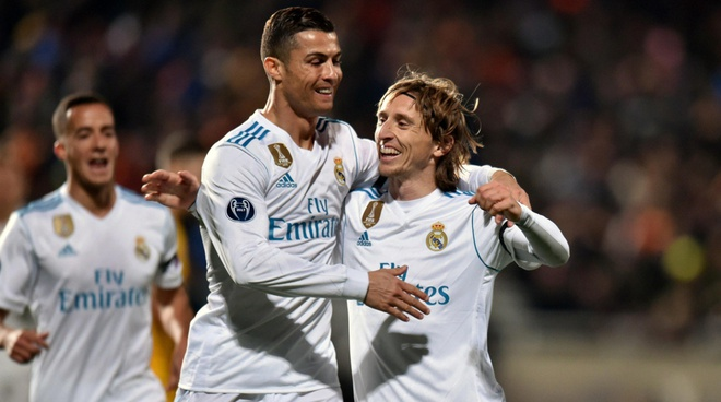 Modric: 'Ronaldo nhan tin chuc mung toi' anh 1