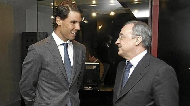 Perez muon Rafael Nadal lam chu tich Real Madrid anh 1