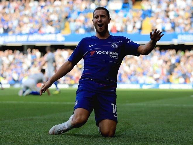 Chelsea dai thang Cardiff 4-1: Co Hazard la co tat ca hinh anh