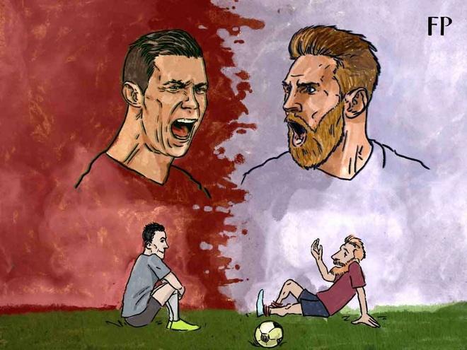 Modric,  Ronaldo,  Messi anh 1