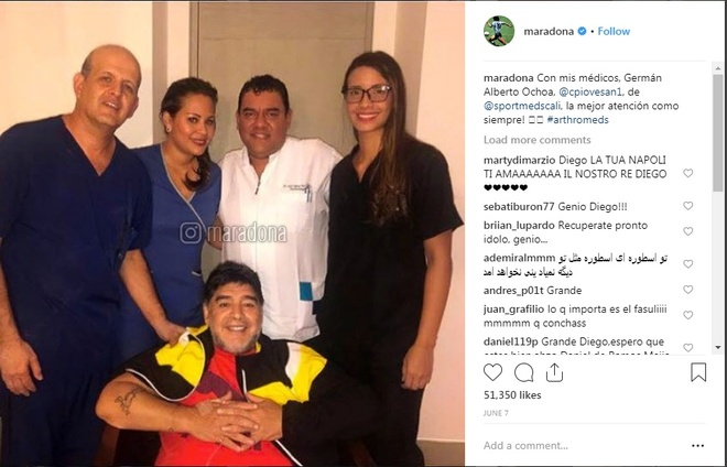 Diego Maradona mat het sun dau goi, se phai dung chan gia hinh anh 2