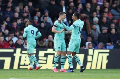 Crystal Palace vs Arsenal anh 1