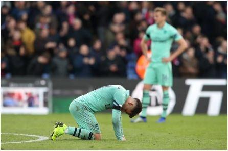 Crystal Palace vs Arsenal (2-2): 'Phao thu' dut mach toan thang hinh anh