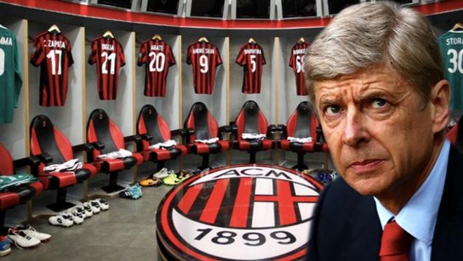 Arsene Wenger dat thoa thuan de tro thanh HLV truong AC Milan hinh anh