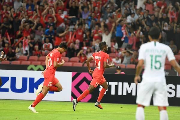 Thắng Indonesia 1-0, Singapore tạo bất ngờ đầu tiên của AFF Cup 2018