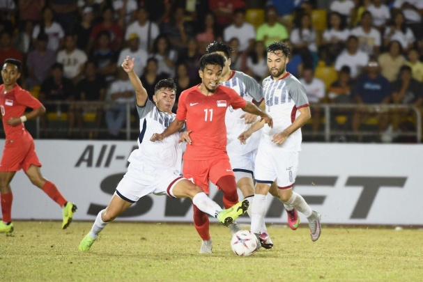 Timor Leste vs Phillippines (0-0): Chu nha ap dao the tran hinh anh
