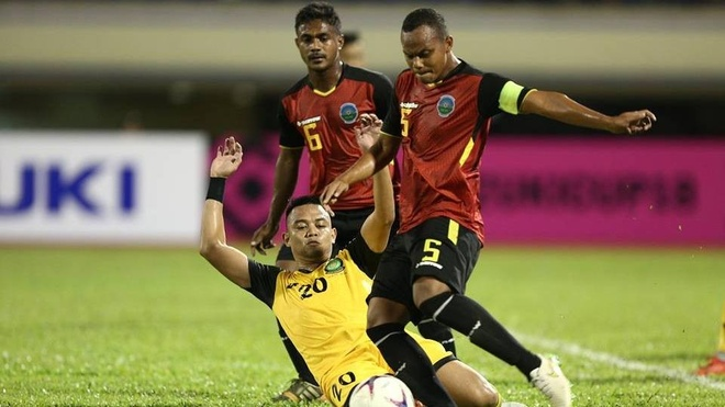 Timor Leste vs Philippines (2-3): Doi chu nha bat ngo co lien 2 ban hinh anh