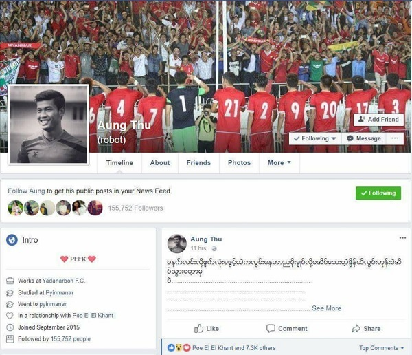Nhan sac cua ban gai sao Myanmar doi dau tuyen Viet Nam hinh anh 9
