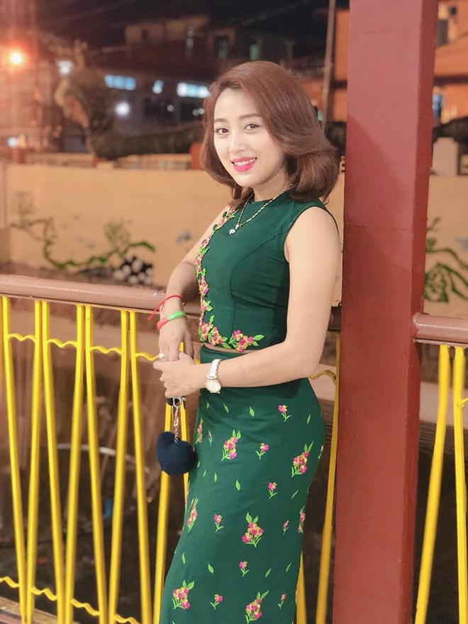 Nhan sac cua ban gai sao Myanmar doi dau tuyen Viet Nam hinh anh 2