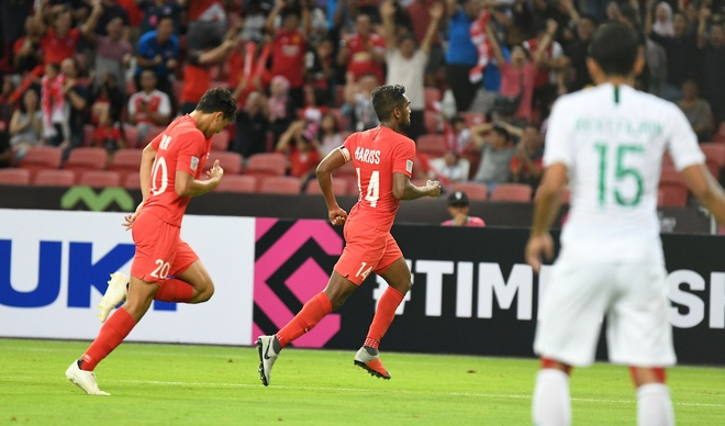 Singapore vs Timor Leste (4-1): Chu nha ap dao ghi mua ban thang hinh anh