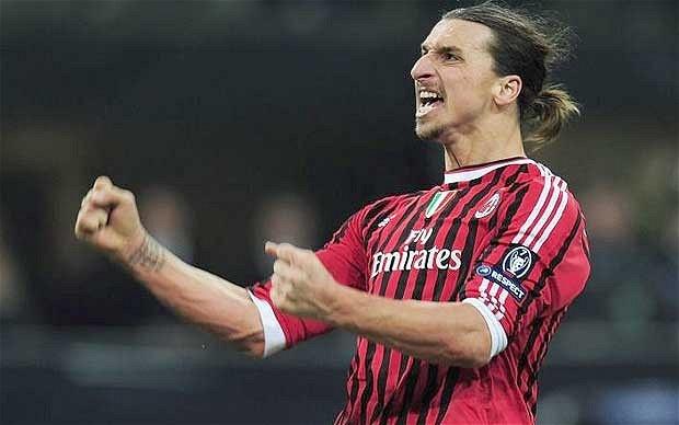 Ibrahimovic dat thoa thuan tro lai khoac ao AC Milan hinh anh