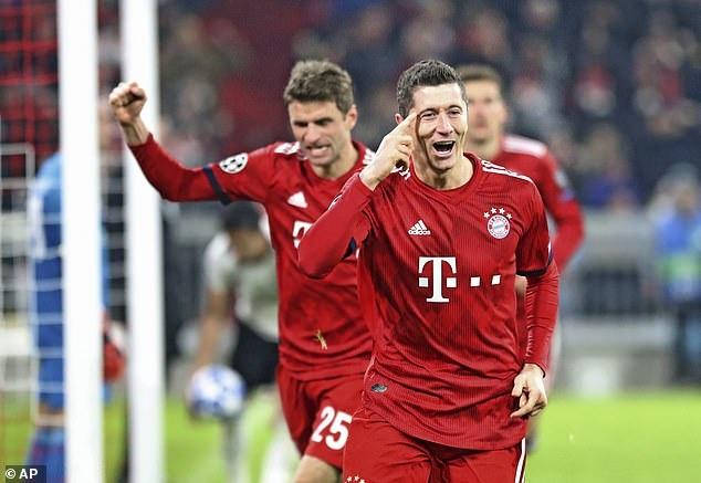 Vui dap Benfica 5-1, Bayern vao vong 1/8 Champions League hinh anh